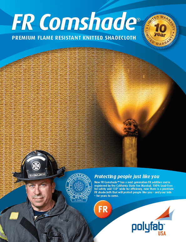 See our FR Comshade brochure