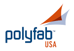 PolyfabUSA Premium Shade Cloth Logo