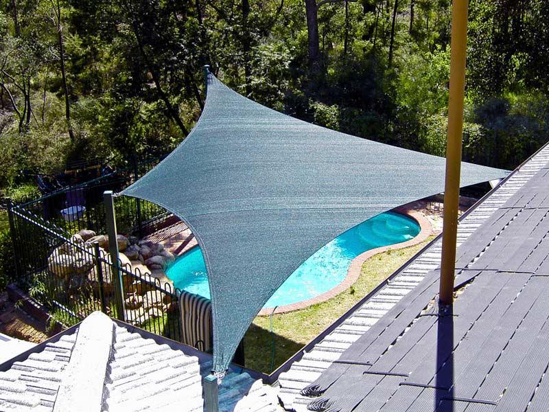 Swimming Pool Sun Shade | Polyfab