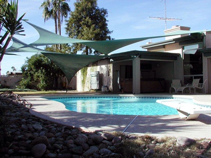 Comshade - Swimming pool sun shade